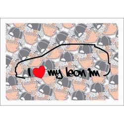 I LOVE MY LEON 1M