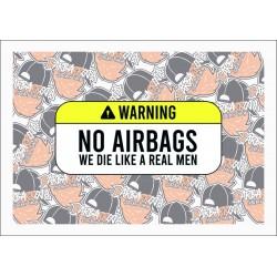 ADVERTENCIA NO AIRBAGS