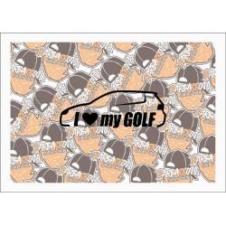 I LOVE MY GOLF