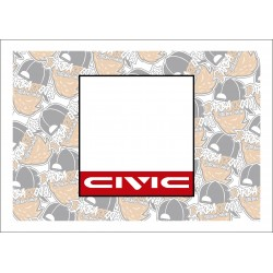 Dorsal Civic EF/ED/EE
