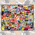 Laminas Sticker Boom